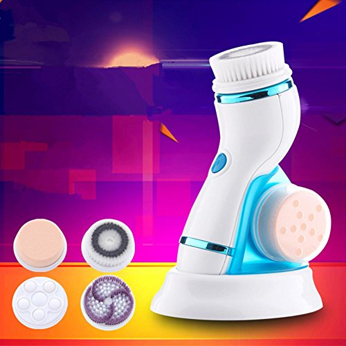 cnaier-lavare-spazzola-elettrica-quattro-in-una-spazzola-pulizia-ricaricabile-strumento-di-pulizia-i