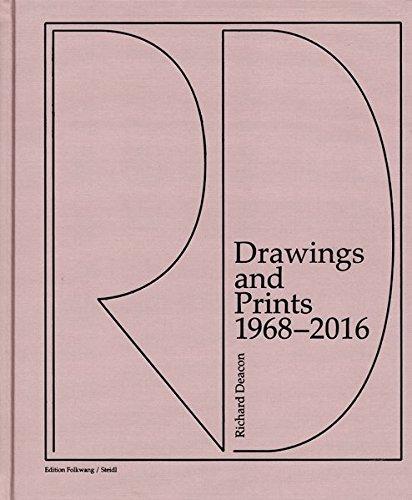 Richard Deacon Drawings and Prints 1968-2016 /Anglais/Allemand par Deacon Richard