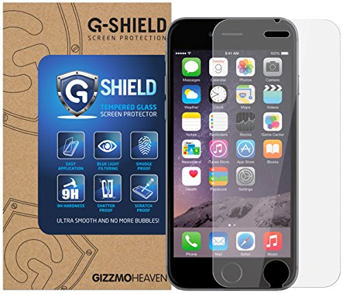 G-Shield Displayschutzfolie für Apple iPhone 6/6S Hartglas Schutzfolie (Iphone 6 Schutzfolie Shield)