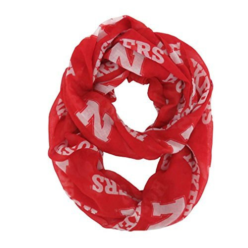 ncaa-nebraska-cornhuskers-sheer-infinity-scarf-by-littlearth