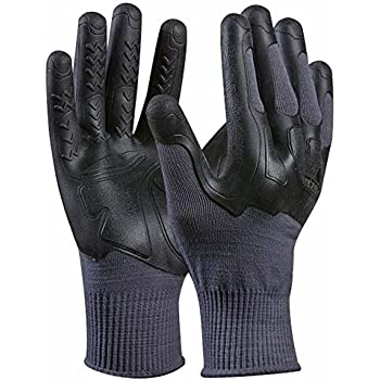 Nylotex 3520 12 Paar Arbeitshandschuhe Latexhandschuhe DK-Safe Flex-Grip