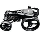 EZE Glide Compact Quad Golf Trolley - Black