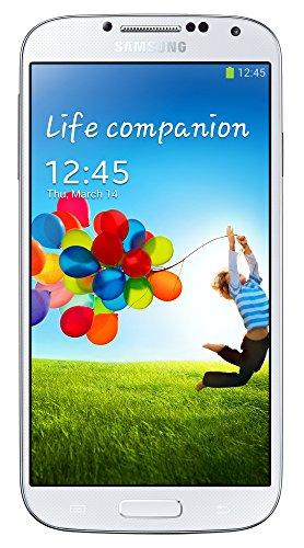 Samsung Galaxy S4 Smartphone (12,7 cm (4.99 Zoll) AMOLED-Touchscreen, 16 GB interner Speicher, 13 Megapixel Kamera, LTE, Android 4.2) - Weiß [T-Mobile-Branding] (Samsung 5 Unlocked Zoll Handy)