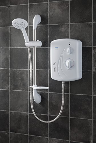 Triton Seville - Ducha eléctrica (7,5 kW), color blanco