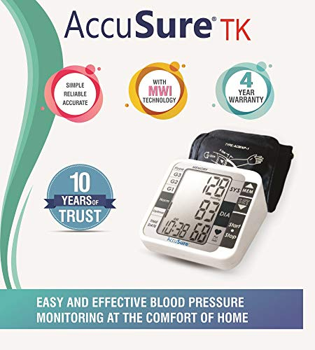 AccuSure TK Automatic Blood Pressure Monitoring System