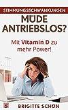 Stimmungsschwankungen, Müde, Antriebslos? Mit Vitamin D zu mehr Power: Auch bei Depression, Burnout, Wechseljahre, Verstimmung, Antriebslosigkeit, Schwangerschaft