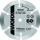Worx Diamant Sägeblatt 115 mm. 1 Stück. WA5048
