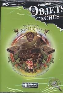 Enigmes et objets cachés : Le grimoire magique