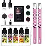 Cigarrillo Electrónico Kit + 5x 10ml set E-Líquido 0,00 mg Sin nicotina Cigarros Electronicos