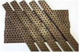 5m Anti-Climb Security Spikes (Pack of 10) - Brown