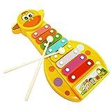 WINWINTOM Spielzeug, IJugendliche Baby Musikinstrument 8-Note Xylophonespielzeug Wisdom Entwicklung