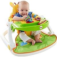 Juegos para bebés Alimentación Silla Sit Me Up Suelo Asiento Soporte FISHER PRICE JUGUETE JIRAFA