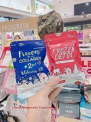 GlutaFrozen Collagen Glutathione x 10 Younger Whitening + Detox - 60 Capsules