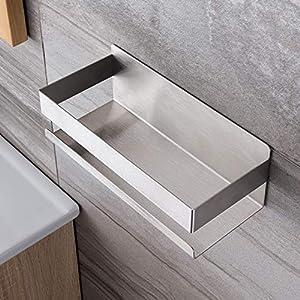 Ruicer Duschkorb Selbstklebender Duschregal Ohne Bohren Duschablage für Badezimmer