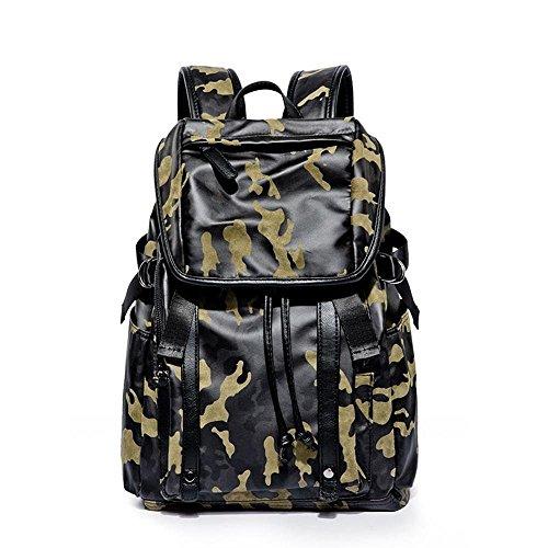 Mayanyan Herren Camouflage-Wind-Schulter Rucksack Mode Trend Reisen Bulk Bag