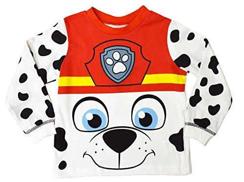 ungen Mädchen Paw Patrol Schlafanzüge Pyjamas Satz größe EU 1-5 Jahre - Marshall - Neuheit, 4-5 Years (George Pig Outfit)
