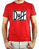 PLANETACAMISETA Camiseta Cerveza Duff (L)