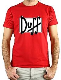 PLANETACAMISETA Camiseta Cerveza Duff