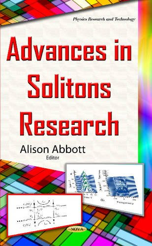 Advances in Solitons Research (Physics Research and Technology)