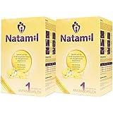 Natamil 1, préparation pour nourrissons, à partir de la naissance, 2 paquets (2 x 800g)