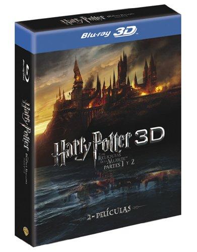 Harry Potter y las reliquias de la muerte Partes 1 y 2 (Pack 3D) [Blu-ray]
