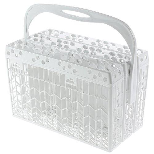 Spares2go Cubiertos Cesto plástico accesorio tapa