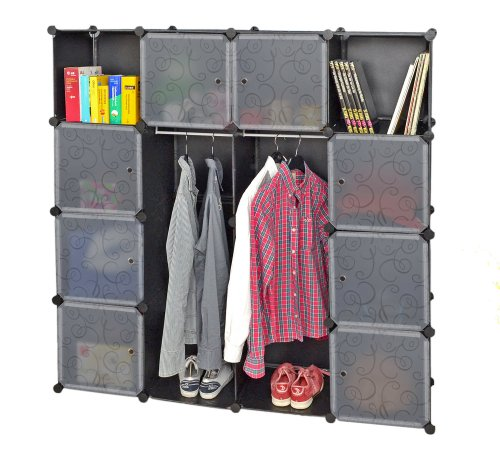 kleiderschrank garderoben flur schrank badschrank w scheschrank schwarz wei hoch regal 150 x. Black Bedroom Furniture Sets. Home Design Ideas