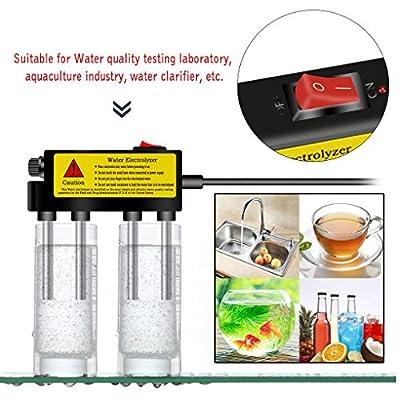 Chunyang Wasser Elektrolyseur Test Elektrolyse Wasser Tools Wasser Reinheitsgrad Tester Wasserqualität Meter Verwendet mit TDS PH und EC Tester