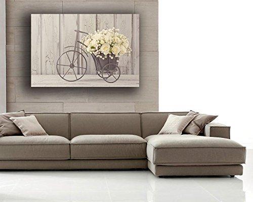 Quadro moderno Shabby Chic camera da letto Fiori - Quadri Moderni Arte  Cucina Soggiorno Salotto Bagno printerland.it (70x100 cm)