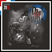 Official the Who 2015 Calendar