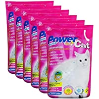 6 x 5 l = 30 L Power Cat Magic Silikat Katzenstreu Powercat
