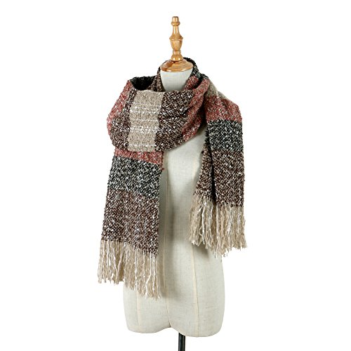 cc76afae8f77 HARAVAL Womens Winter Scarf Fashion Long Scarves Warm Cozy Wrap Shawl