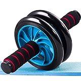 Double-Wheel Ab Abdominal- rad Sport kein Lärm coaster Abdominal- Home Fitnessgeräte Laufband Fitnessstudio Funcional, Blau