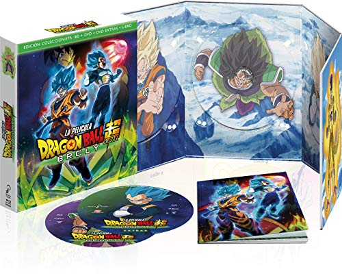 Dragon Ball Super Broly Blu-Ray Edición Coleccionista [Blu-ray - DVD]
