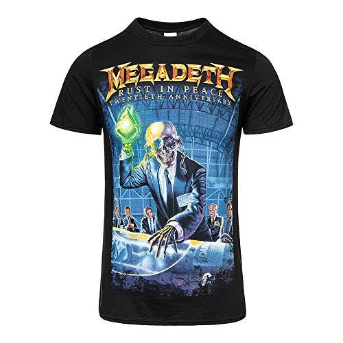 Megadeth Rust In Peace (Anniversary) Camiseta Negro M