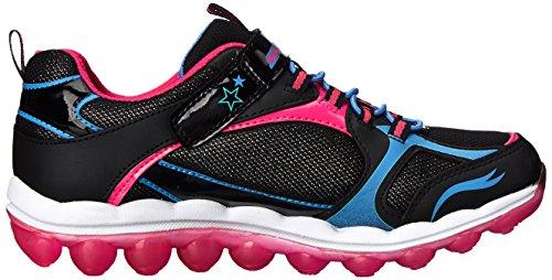 Skechers  80220L BBLP, Baskets pour fille Black/Blue/Pink