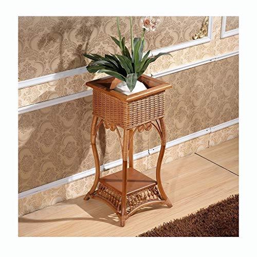 A-ZHP .Pflanze Stehen. Blumenständer Indoor Vine Blumenregal Rattan Blumen Nest Garten Wind Dekoration Topf Regal