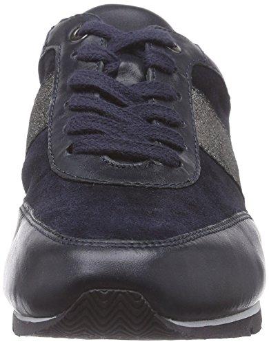 Caprice - 23650, Sneaker basse Donna Blu (Blau (OCEAN/SILVER 898))