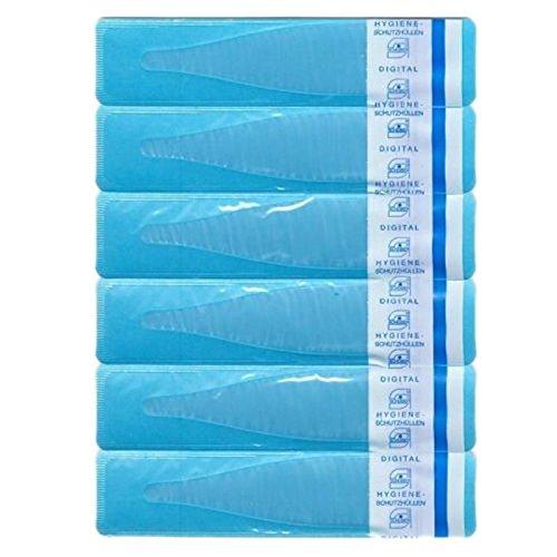 Preisvergleich Produktbild 100 Stück Thermometer Schutzhüllen ohne Gleitmittel . Kinder Fieberthermometer Hygiene Hüllen