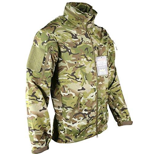 Cadet Kragen Jacke (Kombat UK Herren 's British Terrain Muster Delta Nylon Jacke, Mehrfarbig, Medium)