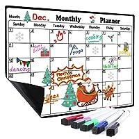 Magnetic Calendar Dry Erase Whiteboard for Fridge