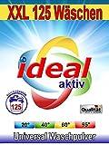 10 Kg Ideal Universal Waschpulver in Premium Qualität für buntes und weißes (125 WL)