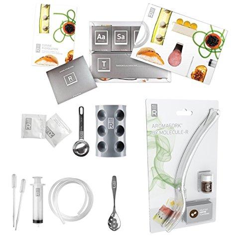 molecule-r Cuisine aroma Combo molecolare gastronomia e kit Aromafork con caffè aroma volatile Enhancing–speciale confezione do