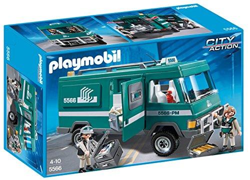 Playmobil Policía - Vehículo para Transportar Dinero,...