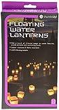 Thumbs Up, Set lanterne galleggianti e portalumini, Confezione di 20 pezzi (10 lanterne gallegianti e 10 portalumini)