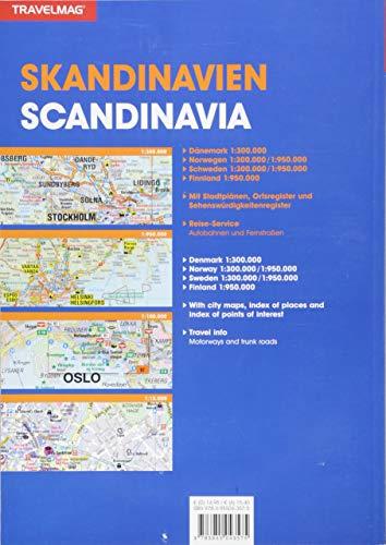 Reiseatlas Skandinavien: 1:300000 / 1:950000 (KUNTH Reiseatlanten): Alle Infos bei Amazon