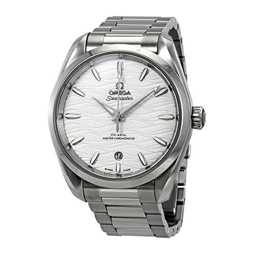 Montre Omega Seamaster Aqua Terra Co-axial Master Chronomètre Automatique en Argent Cadran argenté pour Femme 220.10.38.20.02.003