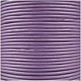 Jewellery of Lords 5 meters of Purple 2mm High Quality Round Cord Real Leather String Lace Thong Jewellery Making