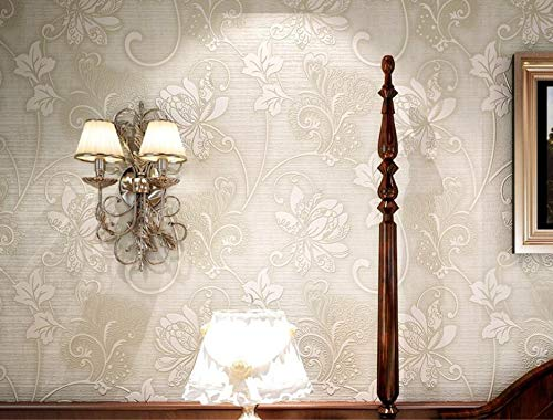 KYKDY Europäische Tapeten Vliesstoffe Dicke Stereo-Wolken 3D-Hintergründe Schlafzimmer Wohnzimmer Hintergrund 3D-Hintergründe rollen, Modell 1,1 Volumen -