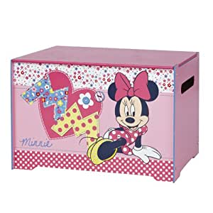 Worlds Apart 864018 Coffre à Jouets Disney Minnie Rose